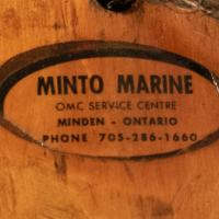 Minto Marine decal